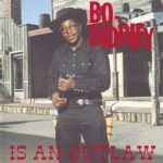 Cover BO DIDDLEY, bo diddley is an outlaw