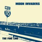 MOON INVADERS, fine line cover