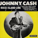 JOHNNY CASH, rock island line cover