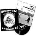 Cover ELEMENT OF CRIME / PERC MEETS THE HIDDEN GENTLEMAN, split