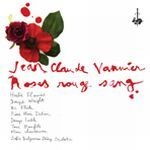JEAN-CLAUDE VANNIER, roses rouge sang cover
