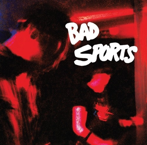 Cover BAD SPORTS, red overlay
