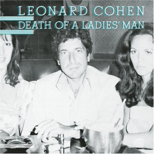 Cover LEONARD COHEN, death of a ladies man