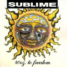 Cover SUBLIME, 40 oz. to freedom