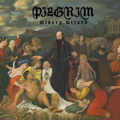 PILGRIM, misery wizard cover
