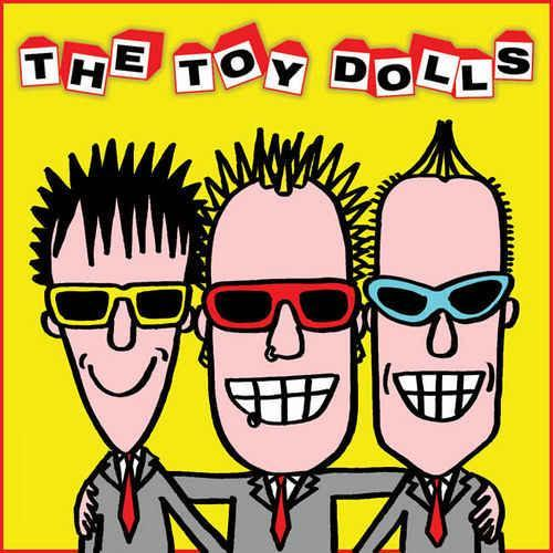 Cover TOY DOLLS, the album after the last one