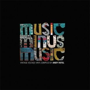 Cover V/A (ANDY VOTEL PRESENTS), music minus music