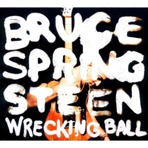 Cover BRUCE SPRINGSTEEN, wrecking ball