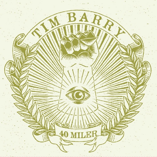 TIM BARRY, 40 miler cover