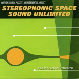 Cover STEREOPHONIC SPACESOUND UNLIMITED, plays lost tv hymnes