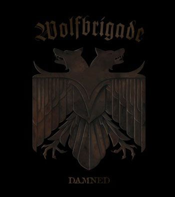 Cover WOLFBRIGADE, damned
