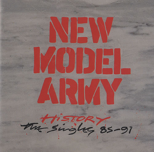 Cover NEW MODEL ARMY, history - the singles 85-91