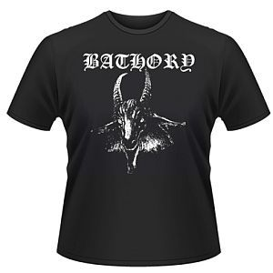 Cover BATHORY, goat_black