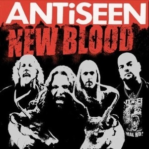 ANTISEEN, new blood cover