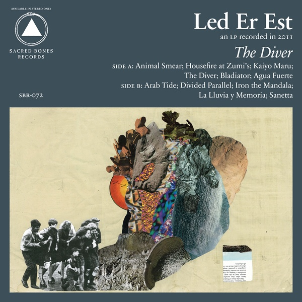 Cover LED ER EST, the diver