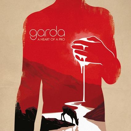 GARDA, a heart of a pro cover