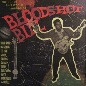 Cover BLOODSHOT BILL, out of this world