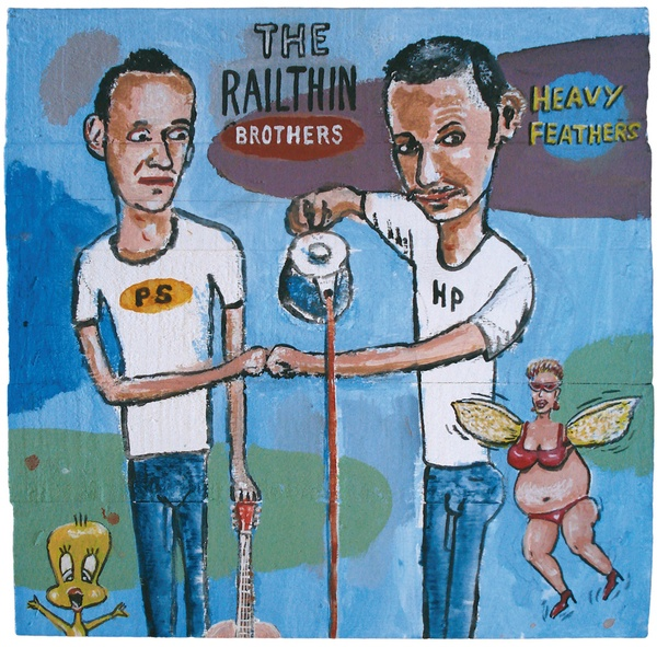 Cover RAILTHIN BROTHERS, heavy feathers