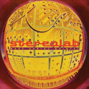 Cover STEREOLAB, mars audiac quintet