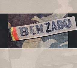BEN ZABO, s/t cover