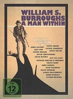 Cover WILLIAM S. BURROUGHS, a man within