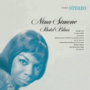 NINA SIMONE, pastel blues cover