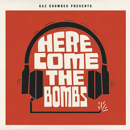 Cover GAZ COOMBES, here comes the bombs
