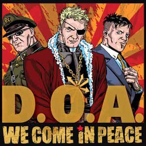 D.O.A., we come in peace cover