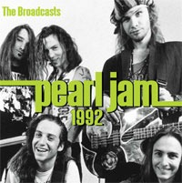 Cover PEARL JAM, 1992 broadcasts